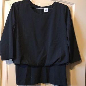 Cabi black quarter sleeve house size M
